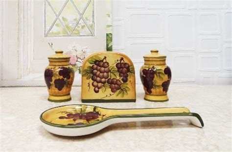 kitchen accessories grapes home decoration club tuscany grapes kitchen decor