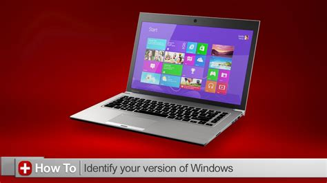 toshiba how to find what version of windows you are running