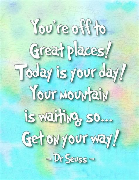 theme quotes for graduation oh the places you ll go dr seuss printables good