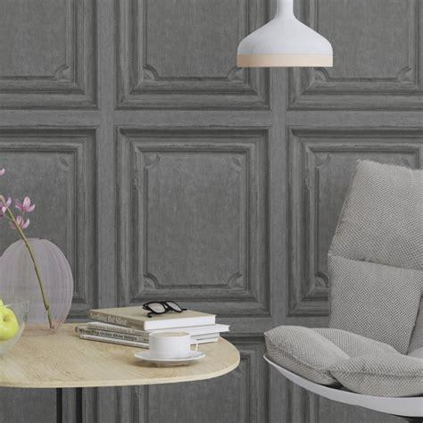 Rasch Wallpaper rasch wooden door pattern wallpaper faux wood effect panel