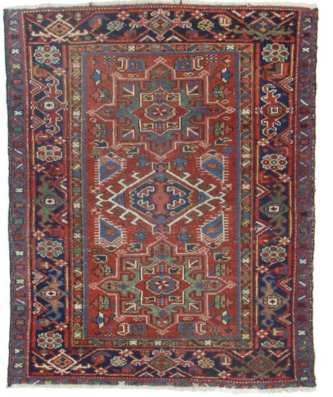 4 X 3 Rug by 3 X 4 Antique Karajeh Rug 14115 Exclusive Rugs