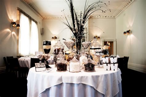 black white buffet black white wedding lolly buffet the buffet company