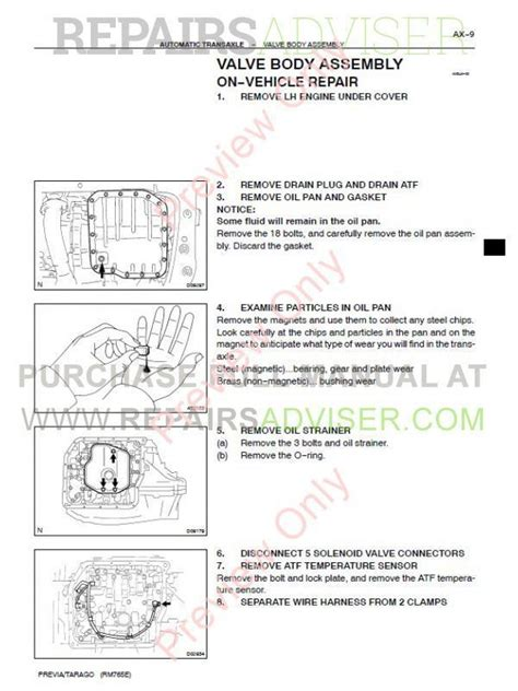 service manual where to buy car manuals 1995 toyota previa transmission control toyota
