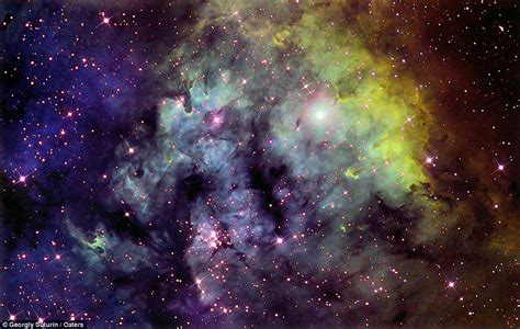 Hipster Nursery Psychedelic Wonder Of Galaxies At Night Incredible Images