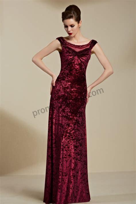 Longdress Velvet prom dresses sleeveless v backless