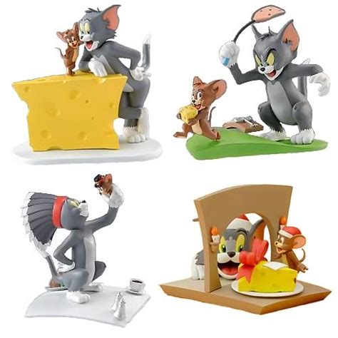 figure tom and jerry tom and jerry mini figure collection set organic tom