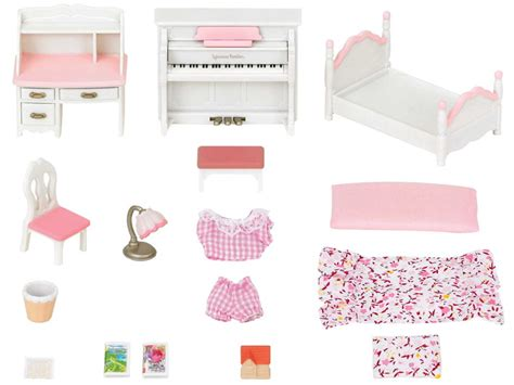 set chambre set chambre fille sylvanian families