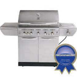 burners for grill kenmore 464224010 5 burner gas grill with side burner