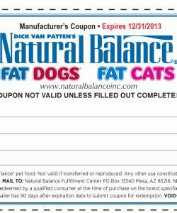 printable natural balance dog food coupons natural balance pet food discount coupon 2013 print