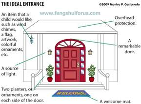creating the feng shui ideal door entrance