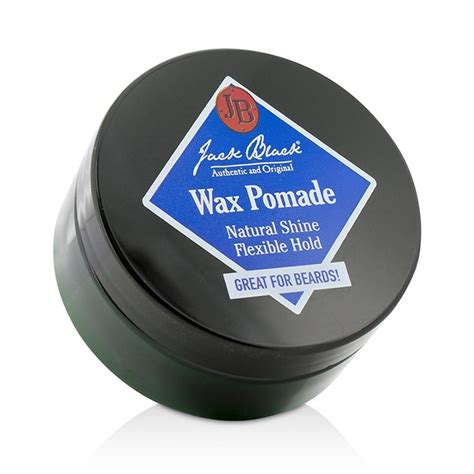 jack black pomade jack black wax pomade natural shine flexible hold fresh