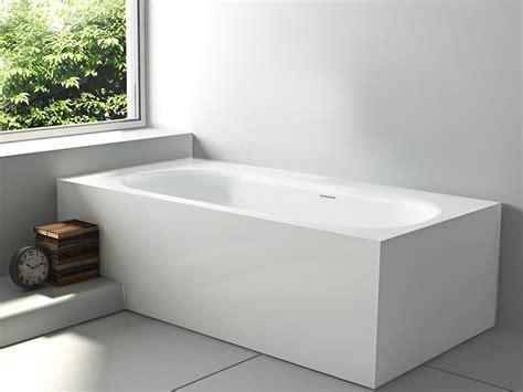 freistehende badewanne eckig sassari freistehende mineralguss badewanne wei 223 matt