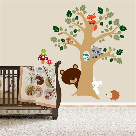 The 25 Best Forest Friends Ideas On Pinterest Woodland Forest Nursery Wall Decals