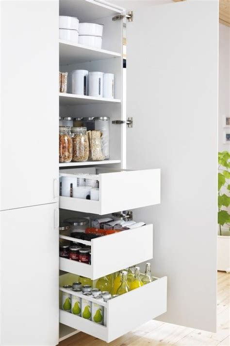 kitchen pantry cabinets ikea an organized pantry by ikea via ikea kitchens pinterest
