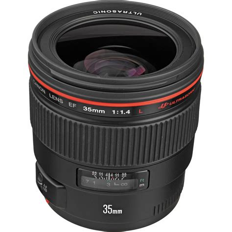 Canon Lensa Ef 35mm F 1 4 L Usm canon ef 35mm f 1 4l usm lens 2512a002 b h photo