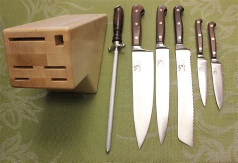 kitchen knives 7 kitchen set forged with