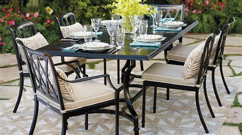 Upscale Patio Furniture String Or Dining Table Ultra Thin Luxury Outdoor Furniture Trending