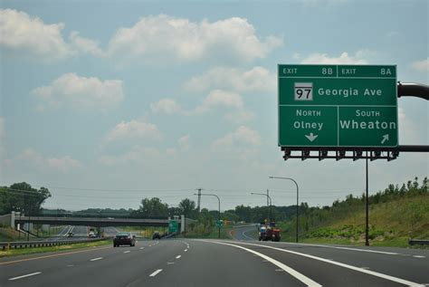 icc maryland map exits maryland aaroads maryland 200 toll intercounty