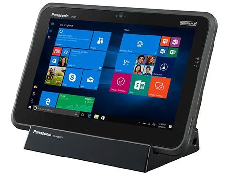 panasonic rugged tablet panasonic debuts fz q2 rugged 2 in 1 tablet with enterprise functionality priced at 2299