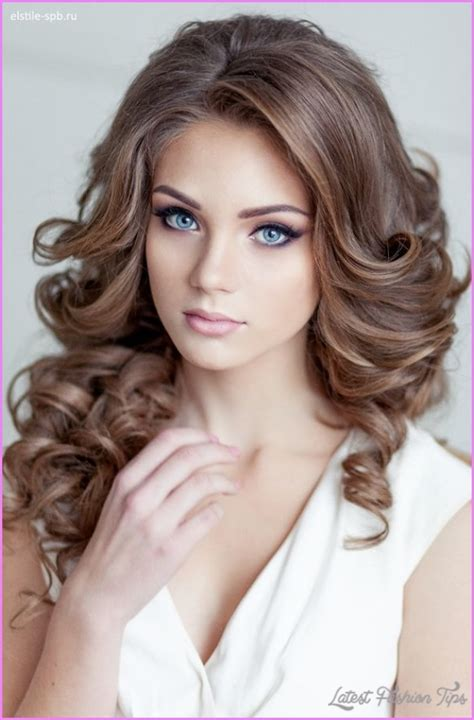 soft curl hairstyle bridal hairstyles loose curls latestfashiontips com