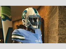 Tulane's set to debut these gorgeous sky-blue uniforms ... Redskins Cowboys