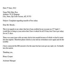 Formal Complaint Letter Sle Business 34 Complaint Letter Templates Free Premium Templates