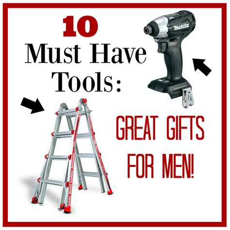 10 Great Gifts For by 10 Must Tools Great Gifts For Squared