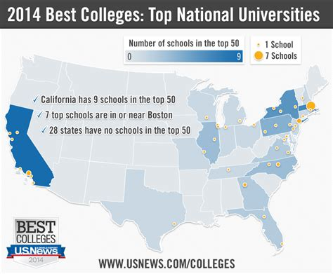 map of colleges in united states universities for b students in california 2017 2018