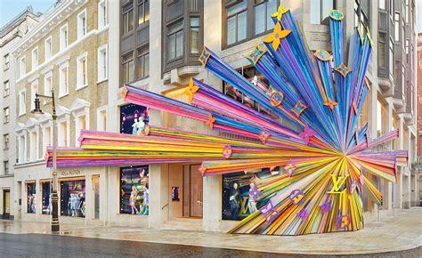 louis vuitton opens  bond street store  london