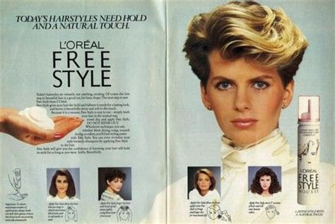 loreal short hairstyles of the 80 high hair and shoulder pads love the 80s l oreal