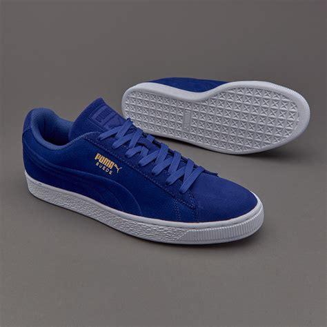 Harga Classic Suede sepatu sneakers suede classic debossed mazarine blue