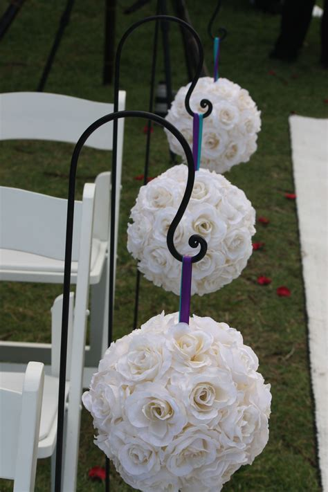 Wedding Aisle Shepherd Hooks by Destination Events Shepherd S Hook 3 Foot Destination Events