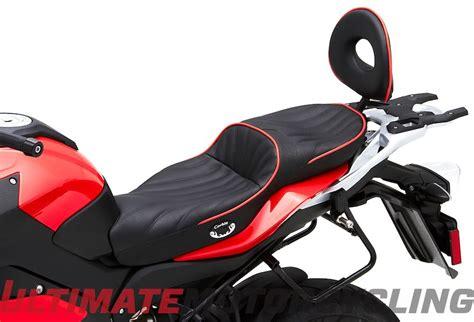 sport bike passenger seat bmw s1000xr corbin dual sport seat released
