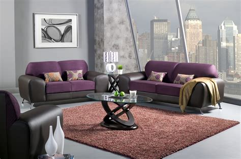 purple and black living room color your living room with awe and couch loveseat set for