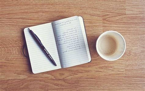 coffee writing wallpaper bient 244 t une application de prise de notes elementary os