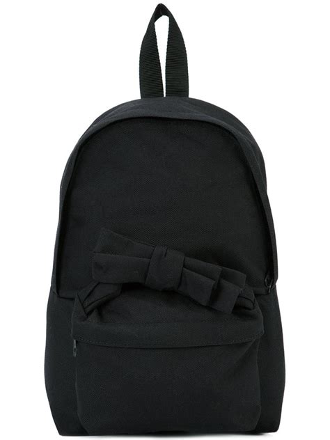 Ziggy Bow Bag From Jaeger by Lyst Comme Des Gar 231 Ons Bow Detail Backpacks In Black For