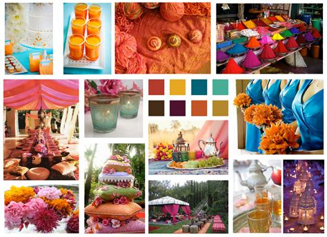moroccan colors de lovely affair global inspiration board moroccan