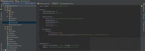 android builds fitur android studio angon data