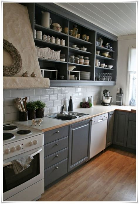 open kitchen cabinet ideas 25 open shelf ideas to make your kitchen more spacious