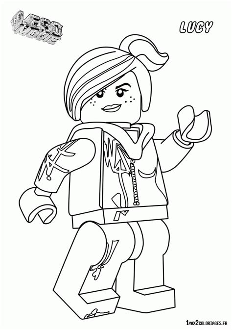 Lego Wyldstyle Coloring Pages | lego movie wyldstyle coloring pages coloring home