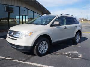ford edge se white 2007 with pictures mitula cars