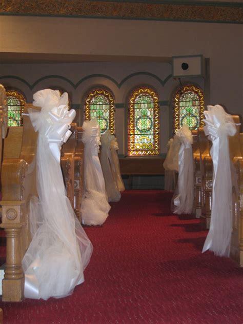 Wedding Pew Decorations by Wedding Pew Decorations Decoration