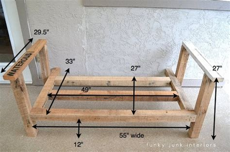 build a couch frame c 243 mo hacer un banco con pal 233 s soovil