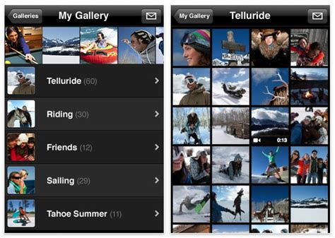 mobile me app apple launches new iphone app mobileme gallery