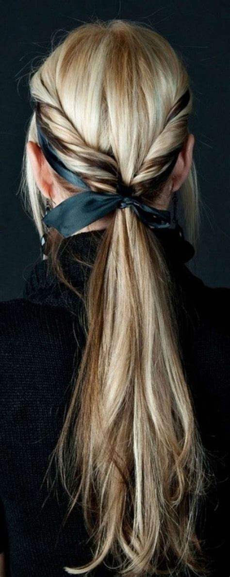 cute hairstyles ribbon best 25 ribbon hairstyle ideas on pinterest