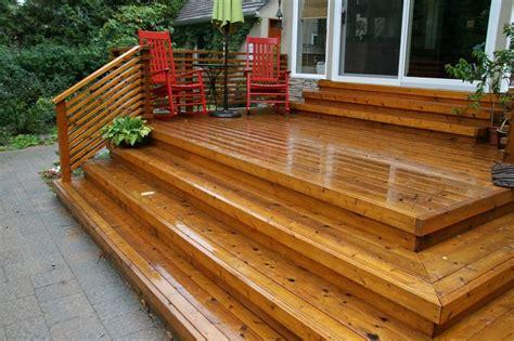 Small City Backyard Ideas Backyard Cedar Deck Yelp