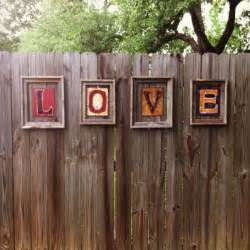 my new fence decor janahboo for the home