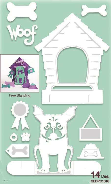 dog house expression creative expressions die paper cuts 3d the dog house