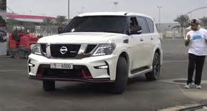 Nissan Patrol 2017 Nissan Patrol Nismo Drag Racing Will Leave You