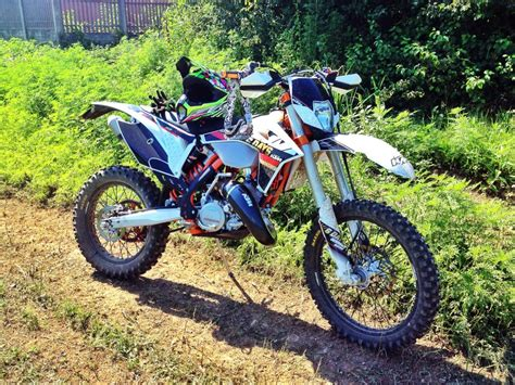 Ktm Exc 125 2013 2013 Ktm 125 Exc Moto Zombdrive